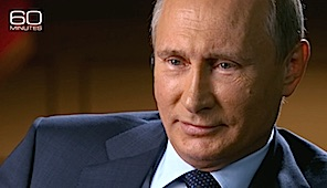 Putin on 60 Minutes with Charlie Rose