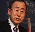Ban Ki-Moon at Monterey Institute