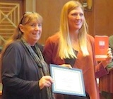 Beatrice Fihn of ICAN receives ANA award 2017