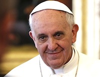 Pope Francis calls for abolition of nuclear weapons