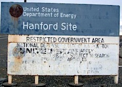 Hanford Site Contaminated