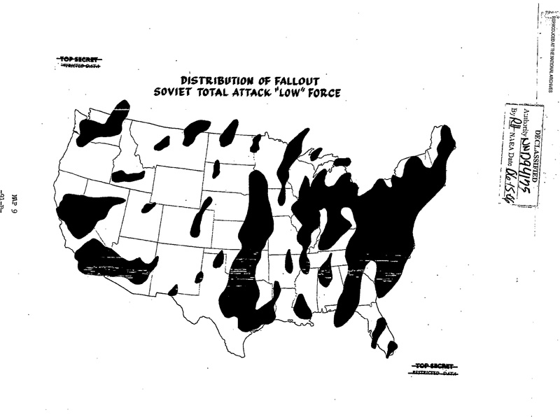 Atomic Histories Nuclear Watch Of New Mexico - Us nuclear war fallout map