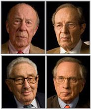 Schultz, Perry, Kissinger, and Nunn