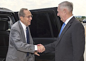 Former Sec Def William Perry meets with Sec Def Mattis on LRSO, GBSD