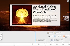 timeline of nuclear close calls