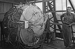 The Gadget, Los Alamos, 1945