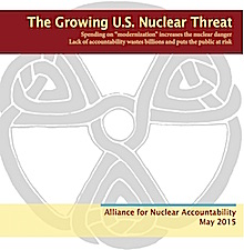 New ANA Report: The Growing U.S. Nuclear Threat