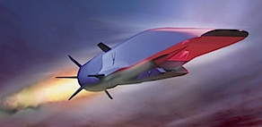 Hypersonic X-51 WaveRider