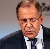 Sergei Lavrov, Russia Foreign Minister