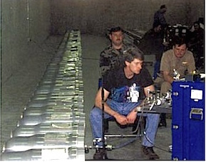 W-80 warheads stockpiled at Kirtland AFB