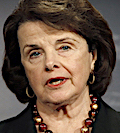 U.S. Senate Intelligence Committee Chairman Senator Dianne Feinstein (D-CA)